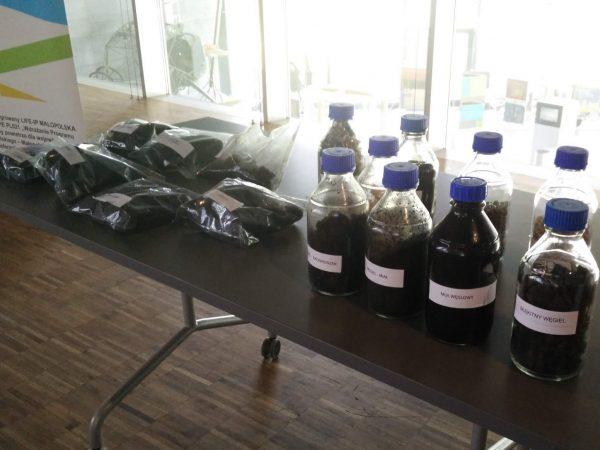próbki, węgiel, kontrole