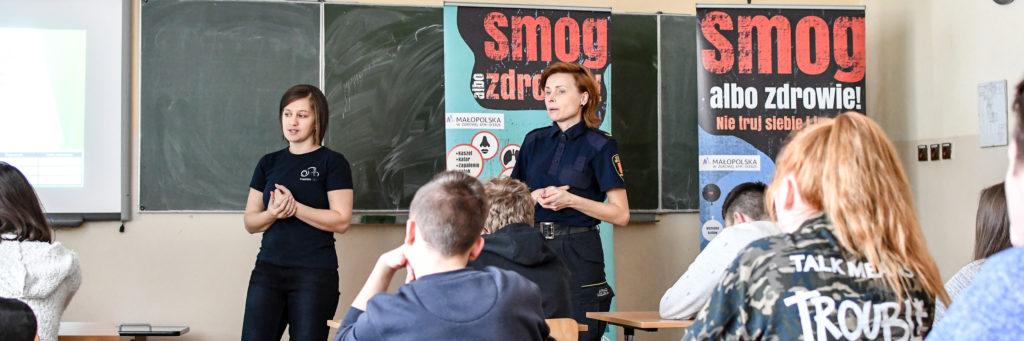 Ecodoradcy szkola dzieci lekcja smog