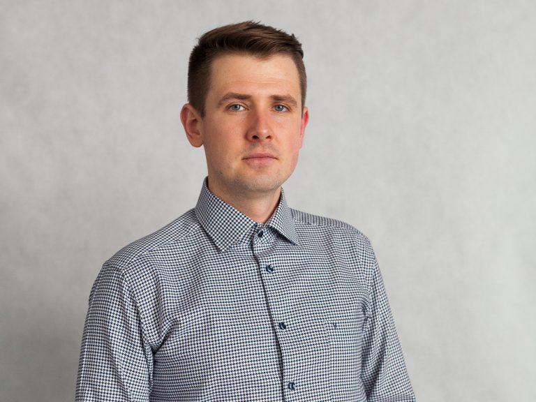 Ekodoradca Koniusza Michał Bochenek