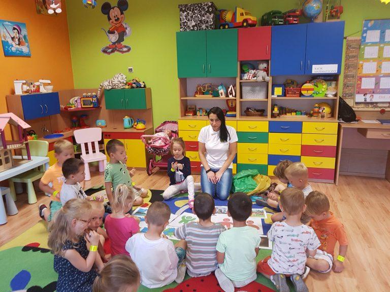 Warsztaty edukacyjne w Przedszkolu Publicznym Krystyna Madej w Liszkach