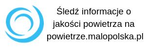 Śledź informacje o jakości powietrza na powietrze.malopolska.pl