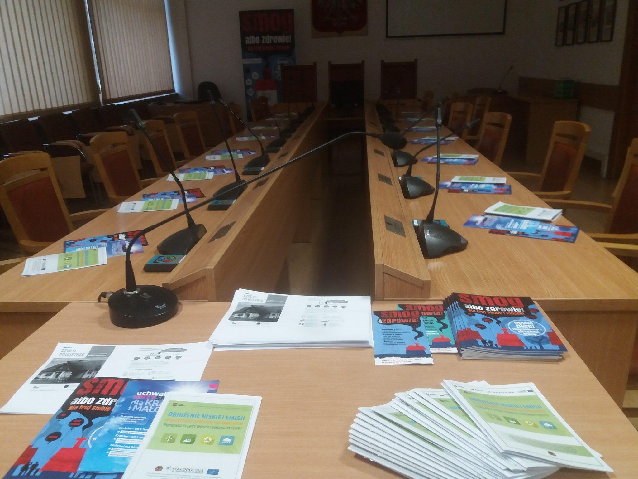 Limanowa: spotkanie informacyjno-edukacyjne dla mieszkańców