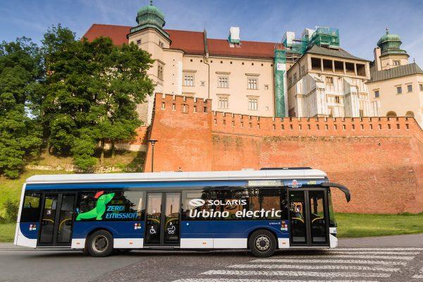 Autobus elektryczny w Krakowie