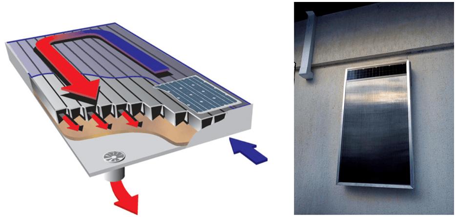 Budowa kolektora powietrznego i przykład montażu