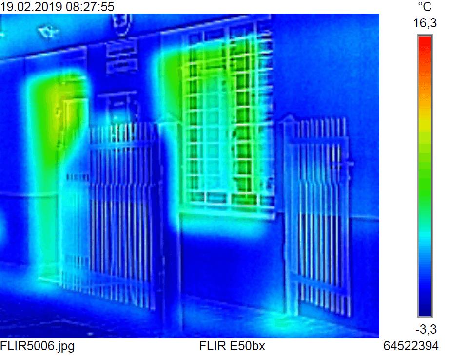 Badanie kamerą termowizyjną w gminie Chełmiec