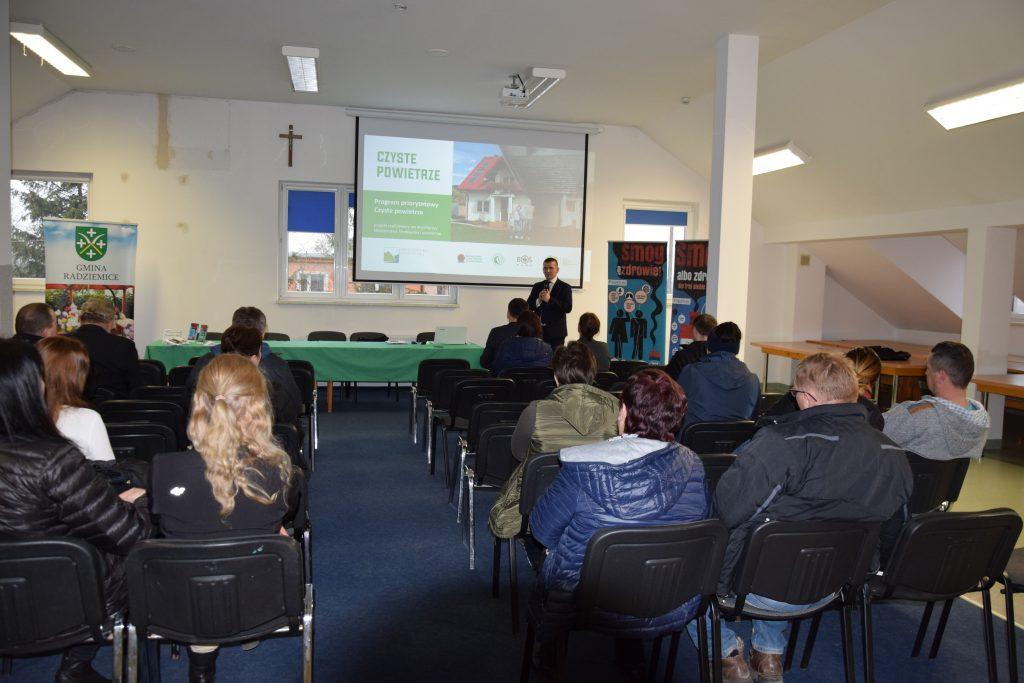 Spotkanie z mieszkańcami ws. Programu Czyste powietrze (Radziemice)