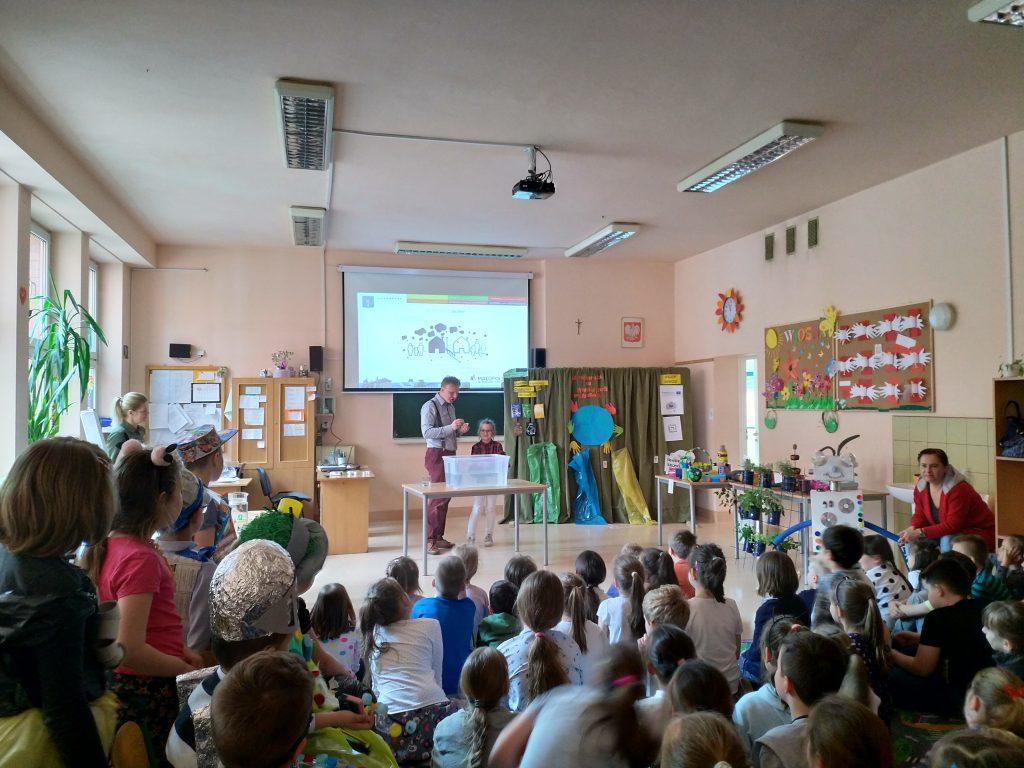 Skawina - spotkanie w szkole